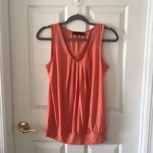 Limited orange tank top. Size Small.